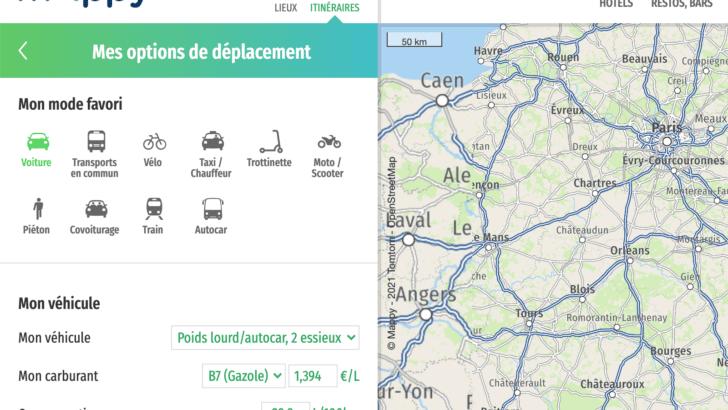 Itinéraire Mappy bus: comment le calculer pour ses vacances?