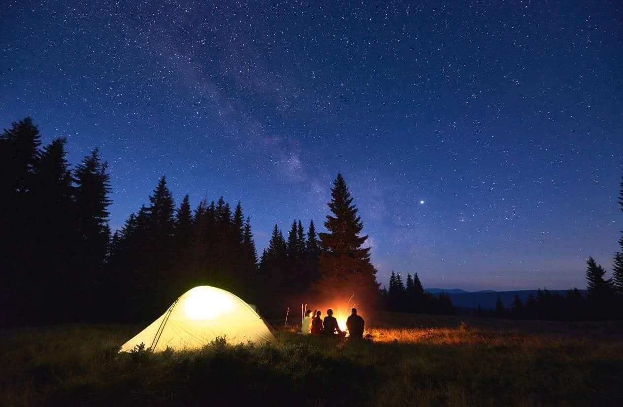 camping hébergement de plein air